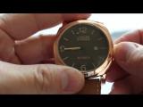 Мужские наручные часы Curren Leisure Series (розовое золото)