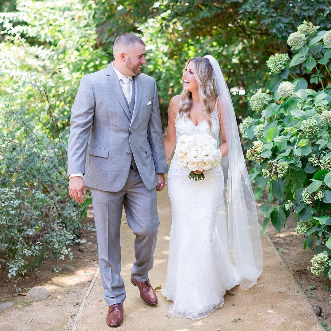 Фотографии последних летних свадеб (5 фото)