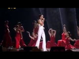 Costa Del Flamenco создает атмосферу на сольном концерте певицы Славы
