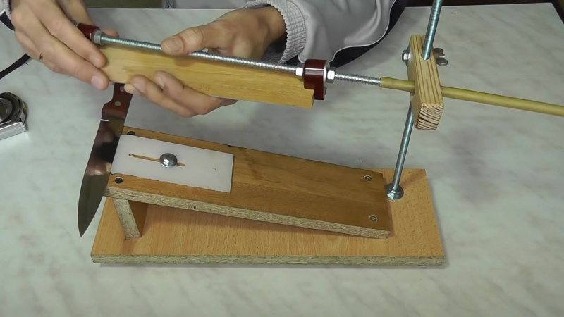 Точилка для ножа своими руками