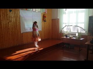 Городской конкурс чтецов на тему экологии, март 2015