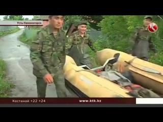 В Усть-Каменогорске эвакуируют людей - Иртыш затопил город . (ВИДЕО)