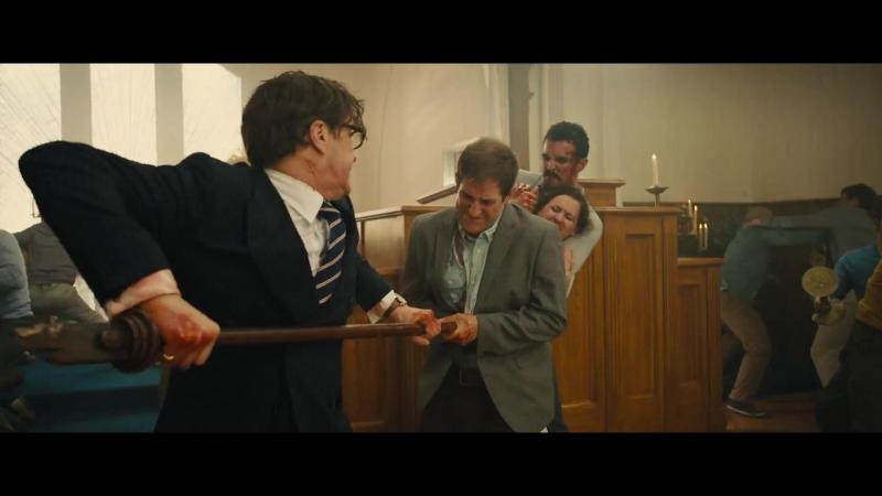 Kingsman. Секретная служба. Сцена боя в церкви
