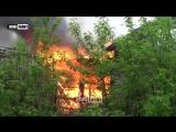 ВСУ во время боя из СПГ спалили дом в Авдеевке - Минские соглашения во всей красе!