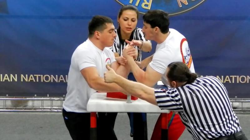 Сайдулаев vs. Уртаев, финал 80кг, Чемпионат России по Армрестлингу 2016