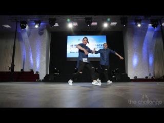 Final Adult Dou Trio Rising Hip Hop | Кунат Настя, Шевчук Настя | The Challenge Dance Championship