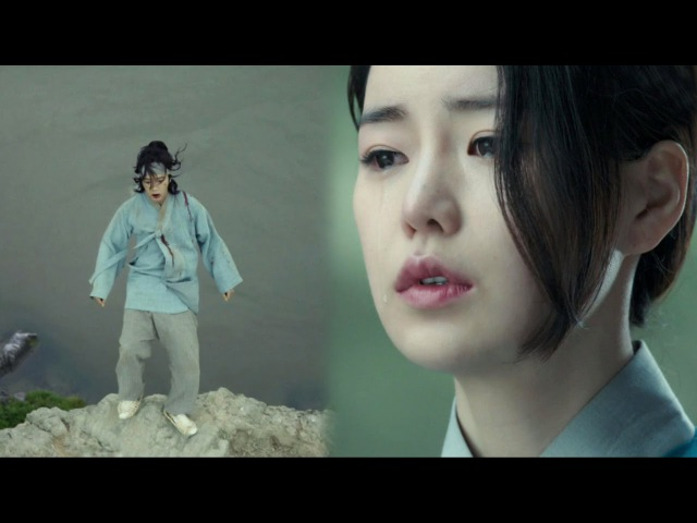 Jang Keun Suk falls off cliff Lim Ji Yeon tears 《The Royal Gambler》 대박 EP05