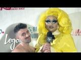 RuPauls Drag Race (Season 8) | Coronation Party Red Carpet w/ Matteo Lane | Logo