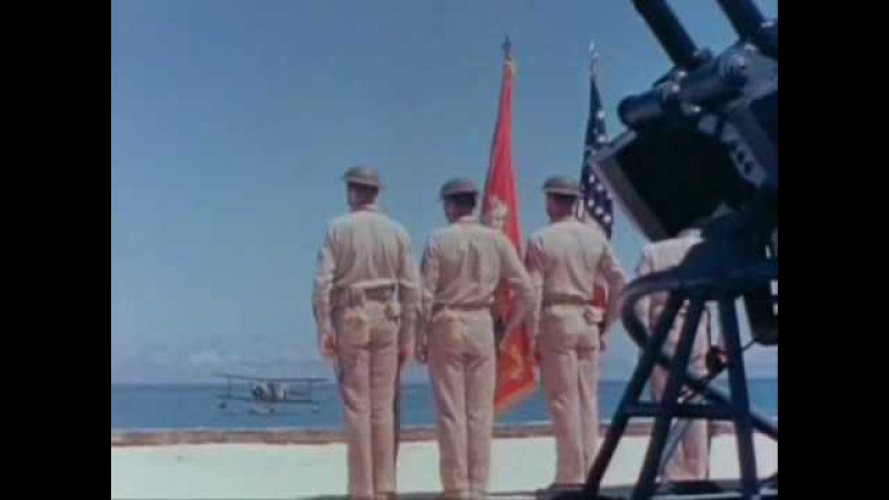 Battle Of Midway WWII in colour