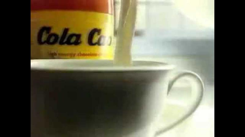 Реклама какао Cola Cao Кола Као из 90х