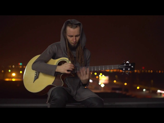 Dmitry Lisenko - Prometheus ( percussive fingerstyle on acoustic bass)