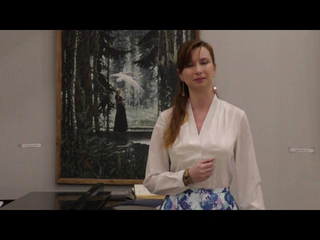 Ирина Гурова Контральто П.Булахов, романс И нет в мире очей