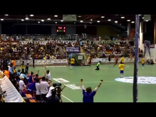 Batyrev's amazing goal Russia 8-5 Brazil World University Futsal Championship 2014 final