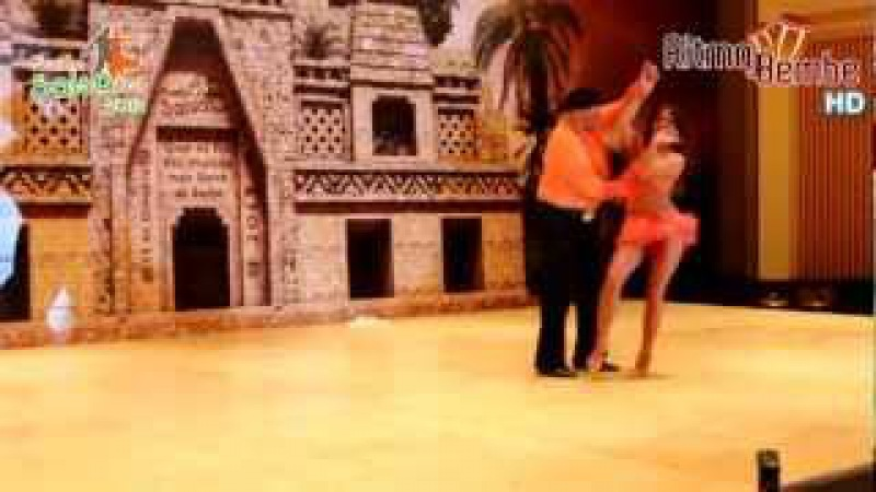 Eddie Torres y Shani Talmor Fusión Salsa Fest 2012