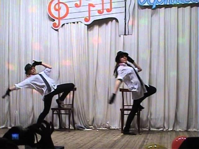 Танец со шляпами. ПУ-15 г.Волжск