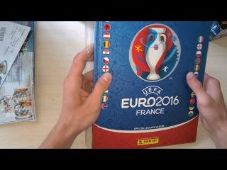 PANINI EURO 2016 stickers 7 New Hardcover Album