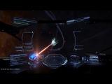 Elite: Dangerous - Cobra Mk3 vs Corvette (CMDR SingularityPoint) & Vulture (CMDR Bioelite)