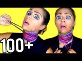 100+ Layers of Neck Chokers! (WARNING DANGEROUS!)