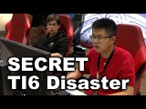 Team Secret Disasters vs Newbee Liquid - TI6 Dota 2
