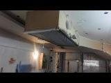Приточно - вытяжная вентиляция в гараже. Очередной этап работ. Supply and exhaust ventilation.