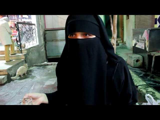 Niqab test drive (part 1) || Никаб тест драйв классика жанра - ничего не видно -)