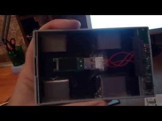 Китайская подделка USB жесткого диска