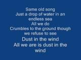 Kansas - Dust in the wind (Lyrics)