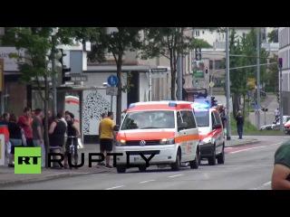Германия: 1 убит, 2 ранены в мачете нападения в Ройтлингене.