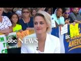 Kristen Stewart Talks Cafe Society on GMA
