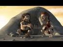 Прикольные мультфильмы, очень смешной мультик про каменный век