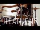 Twenty one pilots - Heathens OST Suicide Squad - Drum cover