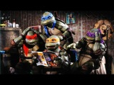 Обзор Teenage Mutant Ninja Turtles Move 1990 Playmates Toys Raphael Review