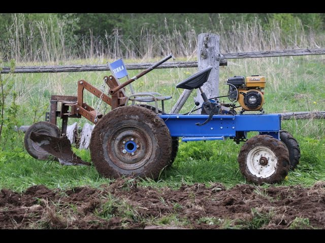 Трактор весна 2016