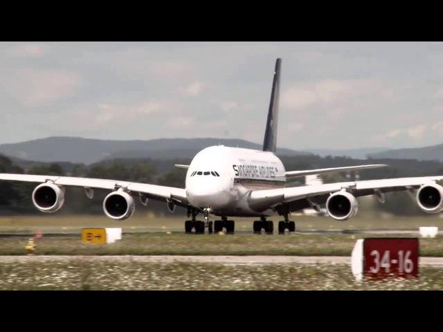 12 МИНУТ ВОСТОРГА: Аэропорт Цюриха / 12 AWESOME MINUTES: Zurich airport
