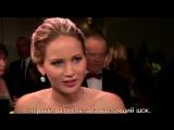 Дженифер Лоуренс отжигает на Оскаре.