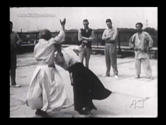 Aikido Master Morihei Ueshiba: Highlights of Takemusu Aiki (1952-1958)