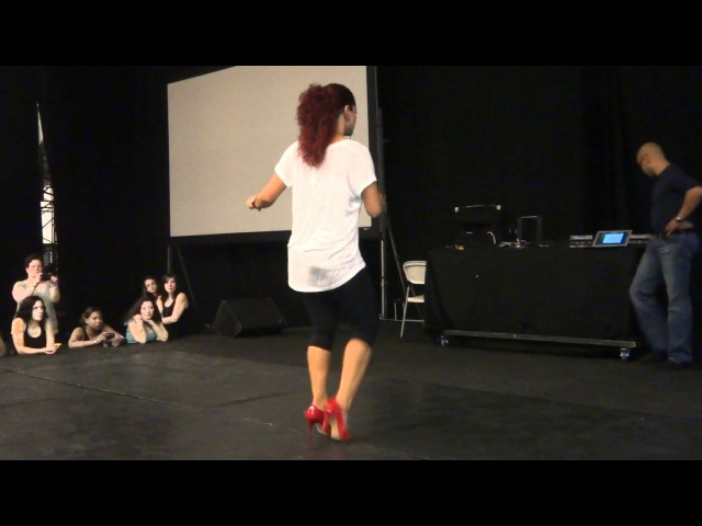 Dominican Bachata freestyle with Jorjet Alcocer at KOB 2012
