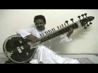 Rajeev Janardan plays Raga Bageshri alap on Surbahar.