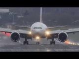 Самые рискованные взлеты и посадки пассажирских самолетов в 2016 году
