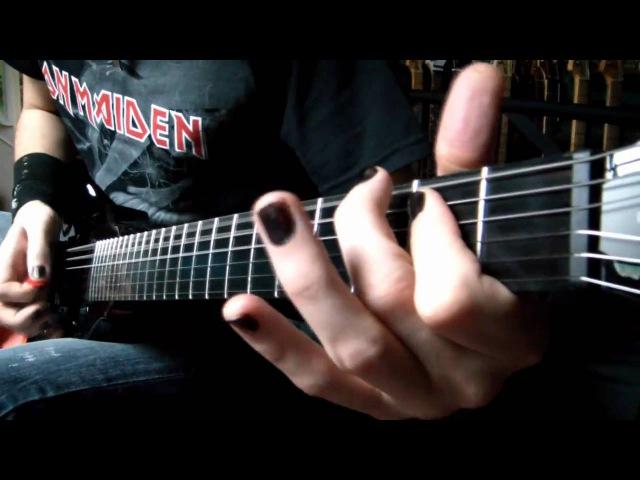 Sad but True guitar cover - Metallica (HD)