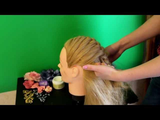 Как держать пряди при плетении кос (советы)