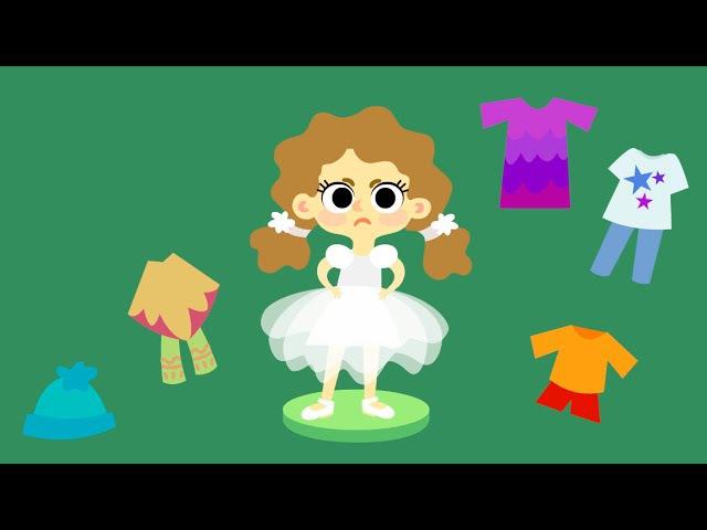 Мультики для девочек ✿ МАШИНЫ ОДЁЖКИ ✿ Урок рисования (Серия 17)