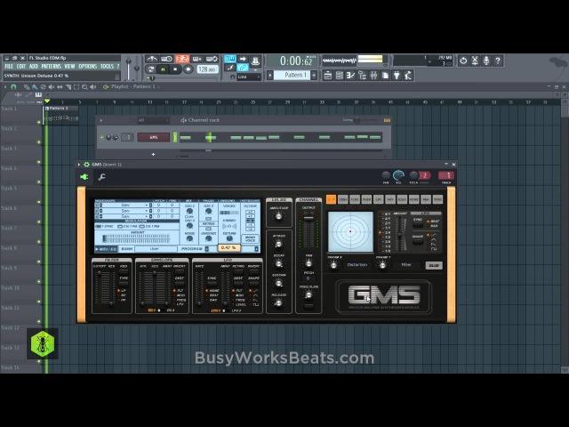 FL Studio 12 Beginners EDM Tutorial No Extra Plugins Required