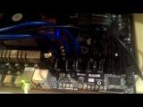 Майнинг Этериума на серверном блоке питания HP 2250w