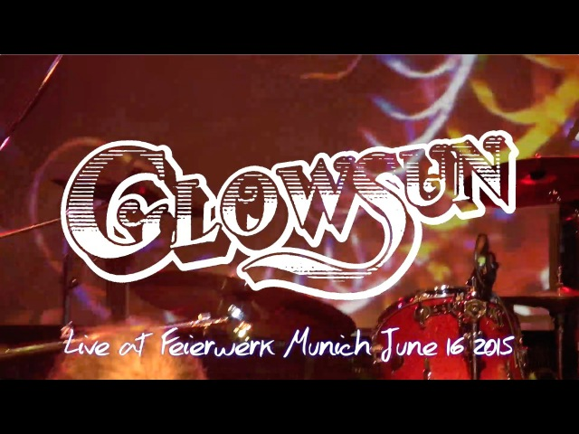 Glowsun live @ Feierwerk Munich June 16 2015