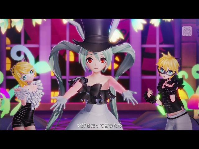 【ミク・リン・レン】カオス・メドレー ~ギガリミックス~【Project DIVA X HD】