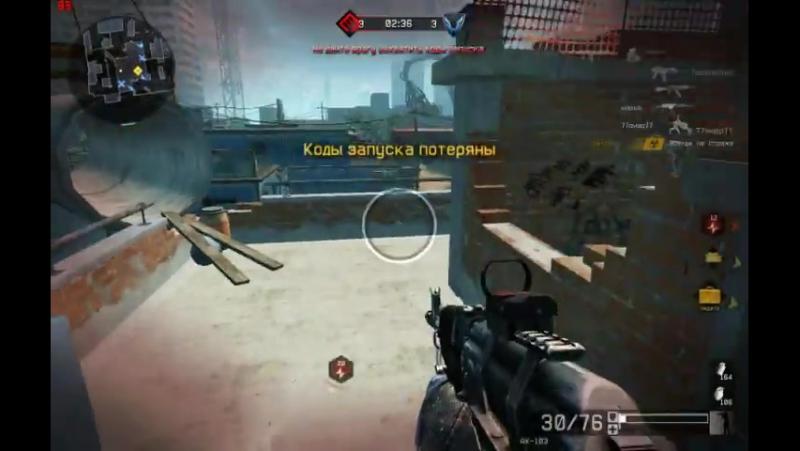 Как я играю Warface с ак-103_HIGH