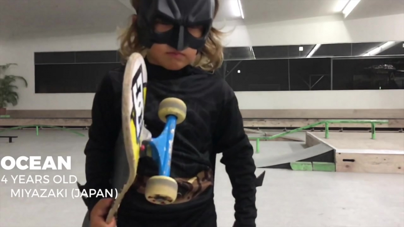 4 7 Year Old Amazing Skateboarding Kids - Sky Ocean - KWR!