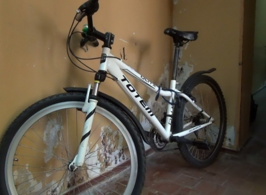 Алиментщик из Покровска угнал детский велосипед