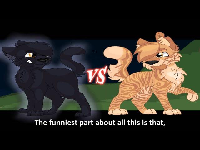 Breezepelt vs Lionblaze. Epic Rap Battles of Warriors 2